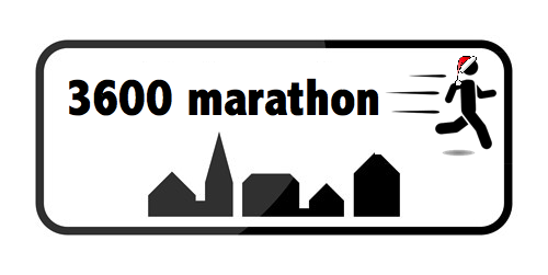 3600 marathon #21 – Juleløb (Julegaver til alle)