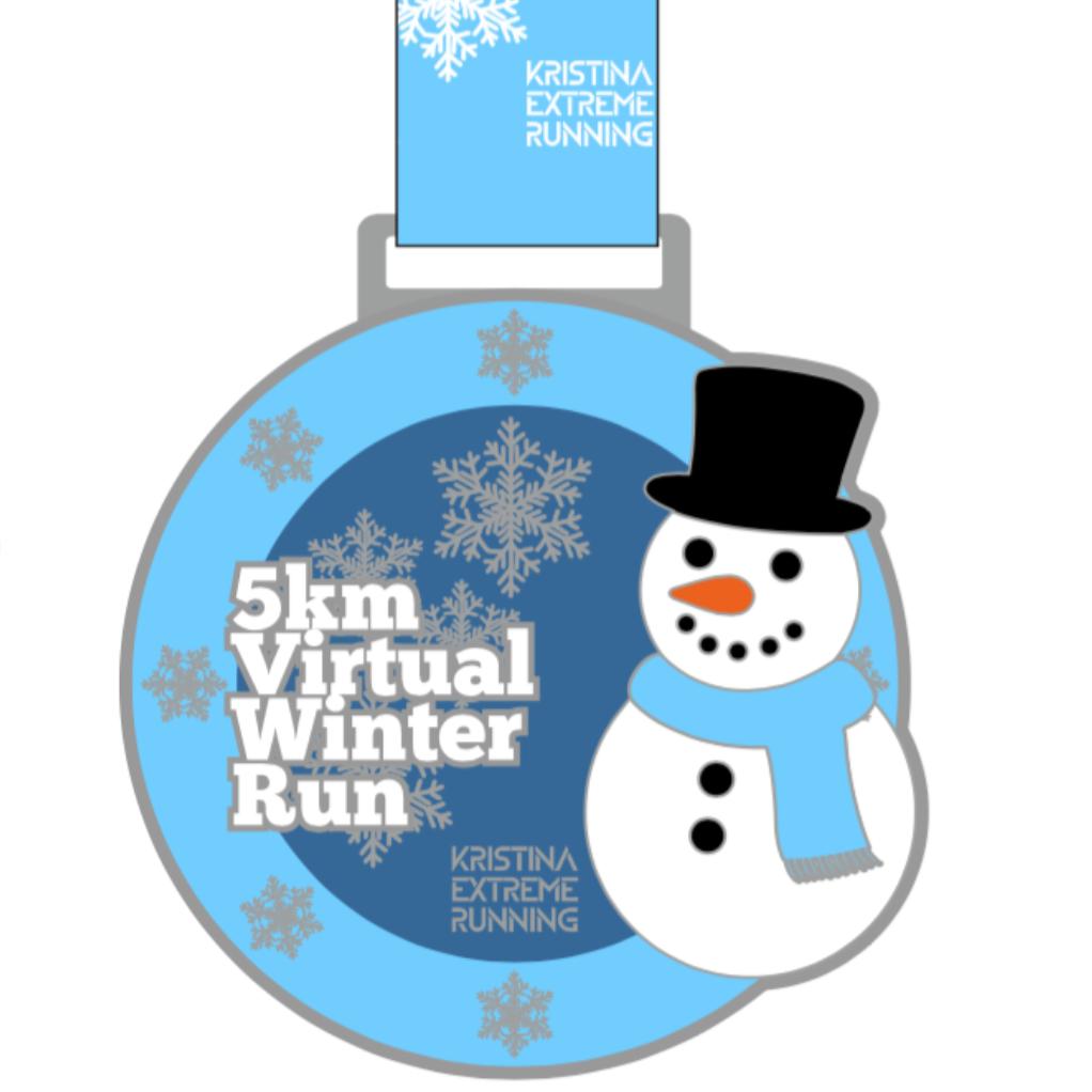 5 km Virtual Winter Run