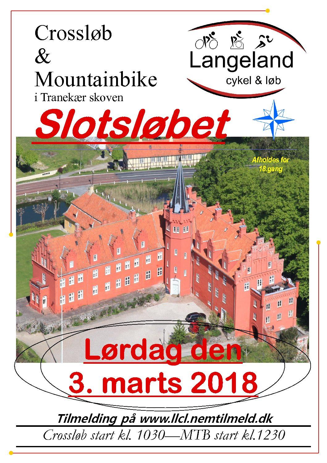 Slotsløbet, Langeland