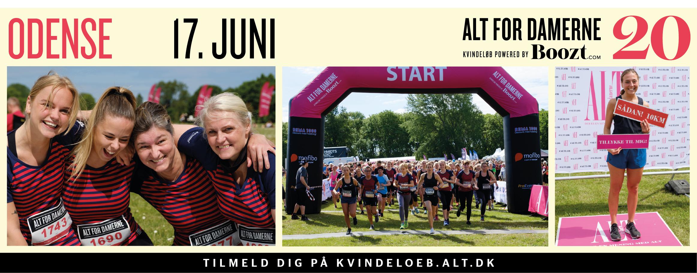ALT for damernes kvindeløb – Odense