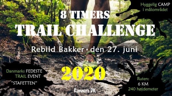 """8 Timers TRAIL Challenge """"Stafetten"""""""