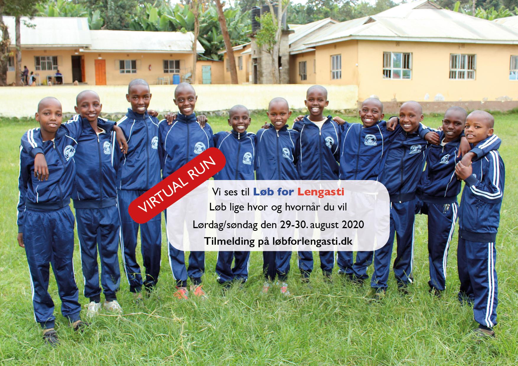 Løb for Lengasti 2020 (Virtual Run for velgørenhed)