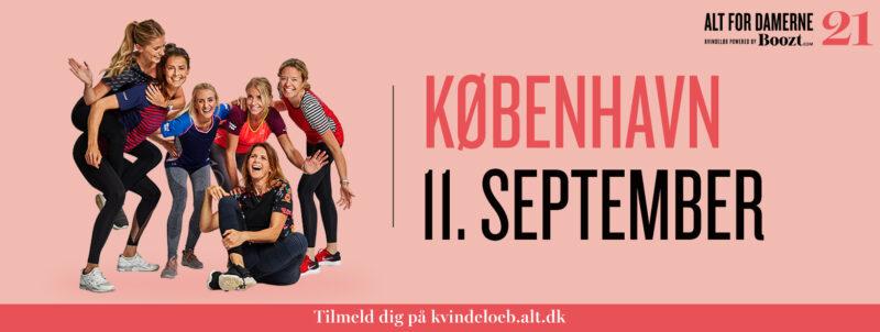 ALT for damernes Kvindeløb – København – 11. september