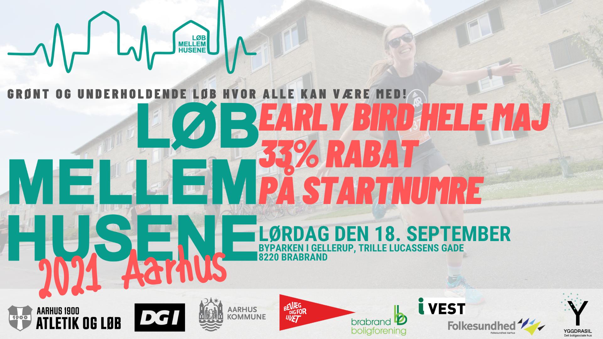 Løb Mellem Husene 2021 Aarhus